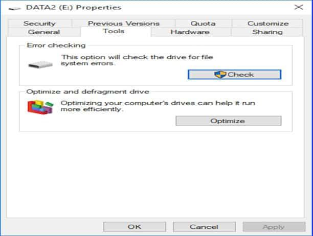Windows CHKDSK Tools