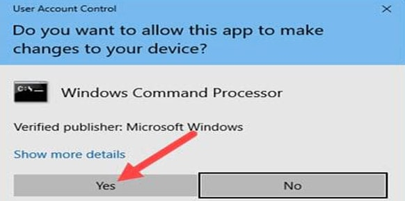Fix loi Limited Access tren windows 10