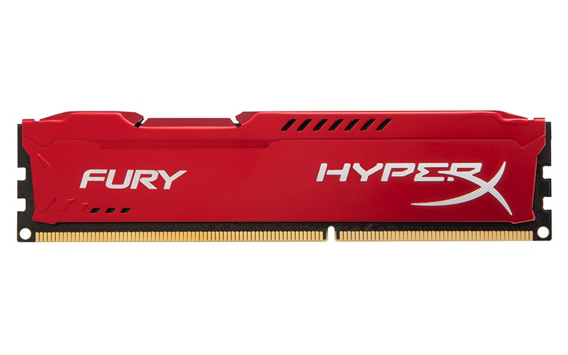 RAM: Kingston HyperX Fury 4GB DDR3 Bus 1600Mhz