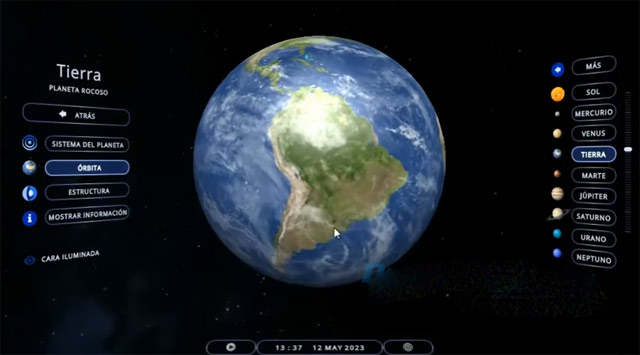 Solar System 3D Simulator 3.0