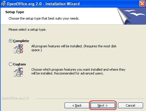 huong dan cai dat OpenOffice tieng viet 3