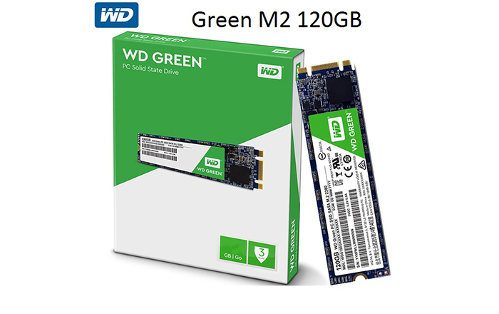 SSD WD Green M.2 120GB