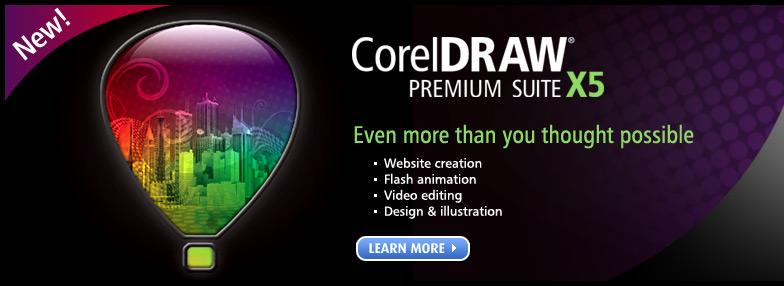 CorelDRAW Premium Suite X5