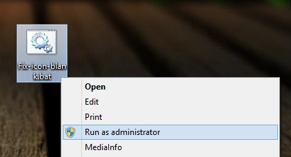 cach khac phuc loi bieu tuong icon tren desktop