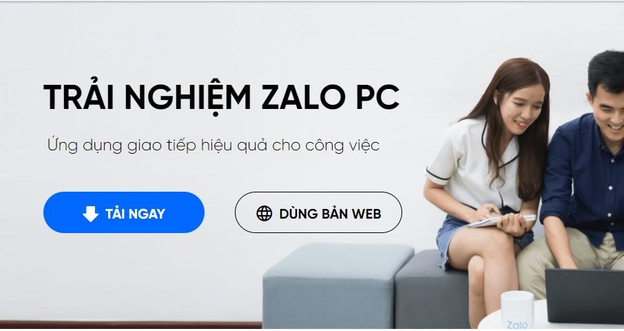 zalo web đăng nhập