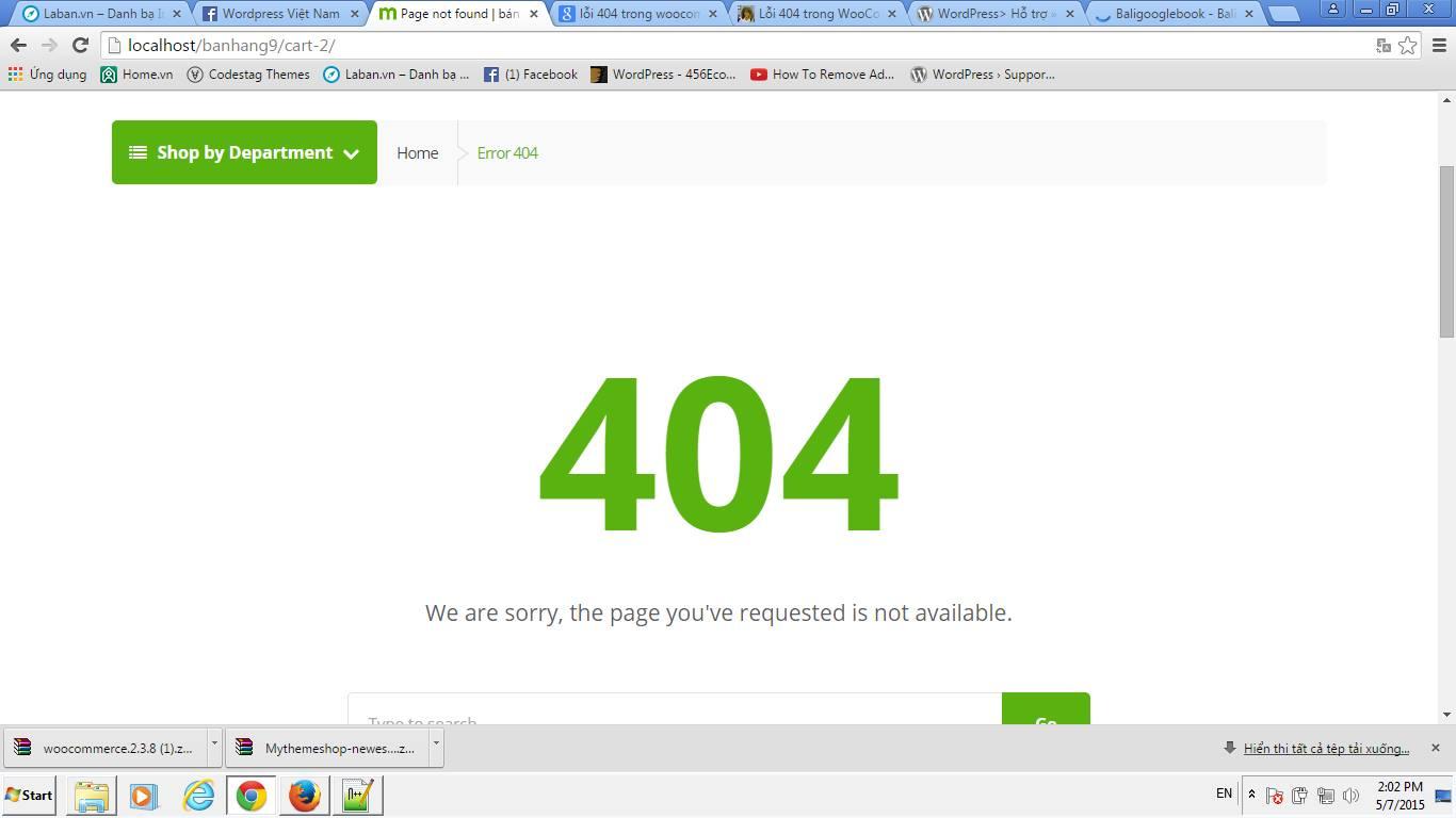 sua loi 404