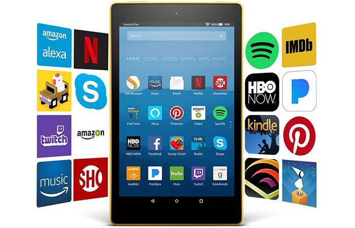 Kindle Fire HD 8- may tính bang tot nhat hien nay